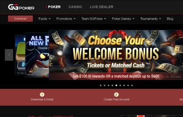 best poker online sites GGpoker